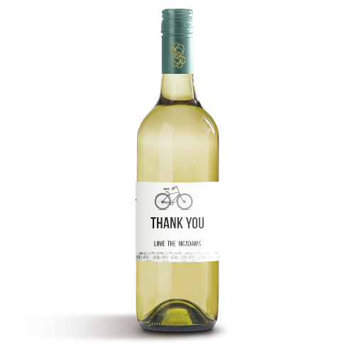 Picture of Bicycle Wine Label