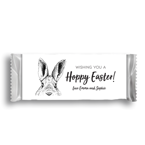 Picture of Monochrome Easter Wrapper