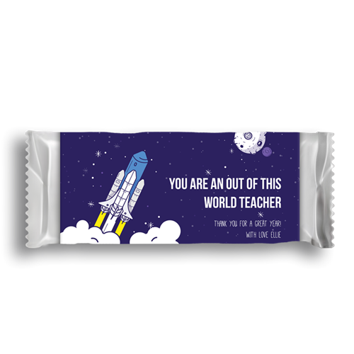 Picture of Outta this world Chocolate Wrapper