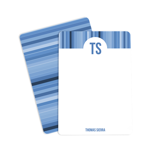 Picture of Blue Rainbow Notecard