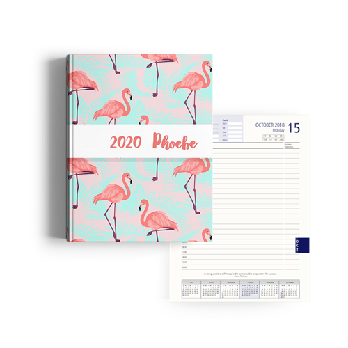 Picture of Bright Flamingo Diary Management