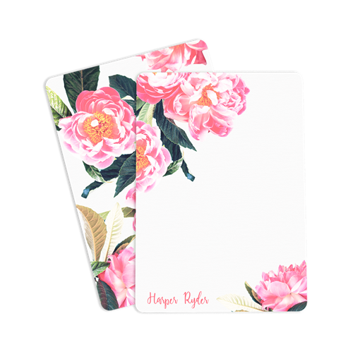 Picture of Floral Notecard