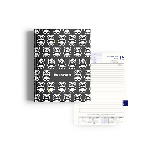 Picture of Pandamonium Diary A5