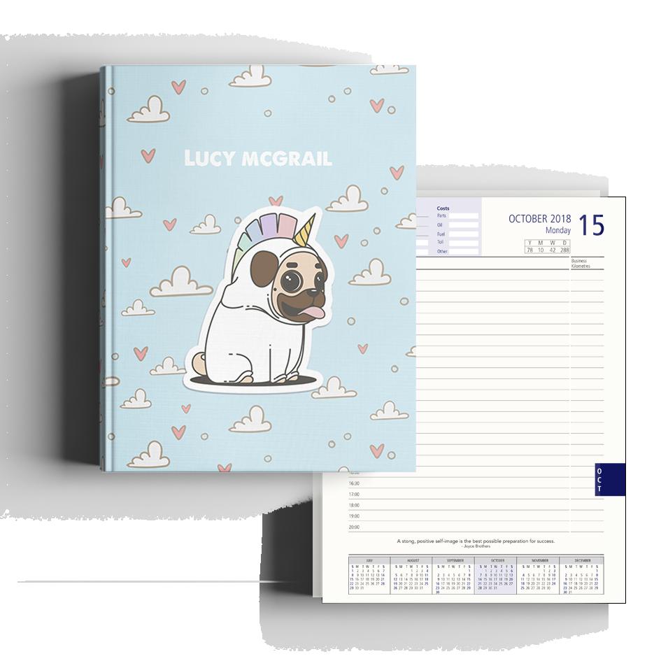 Burble - Corn Dog Diary A4