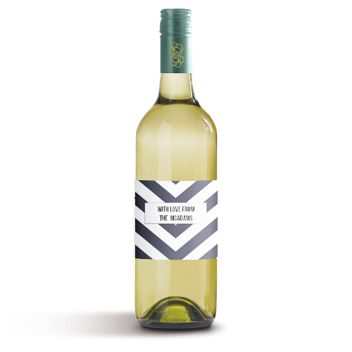 Picture of Blue Arrow Wine Label
