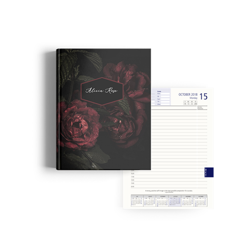 Picture of Rose Diary A5