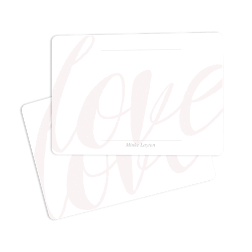 Picture of Love Notecard