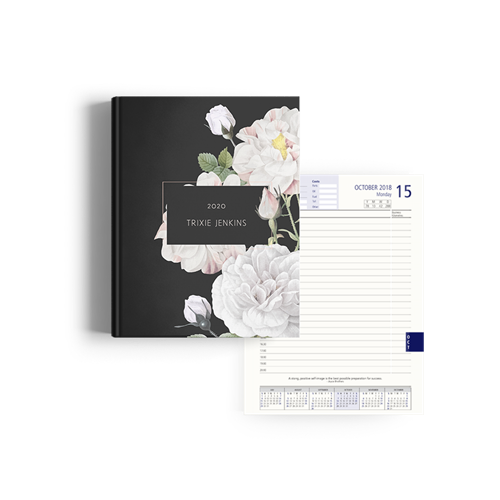 Picture of White Roses Diary Management