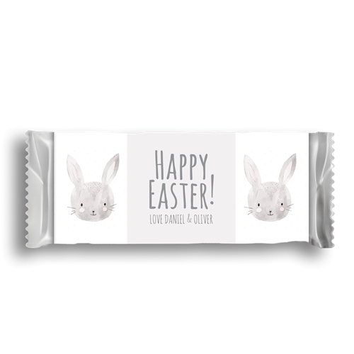 Picture of Grey Easter Bunny Wrapper